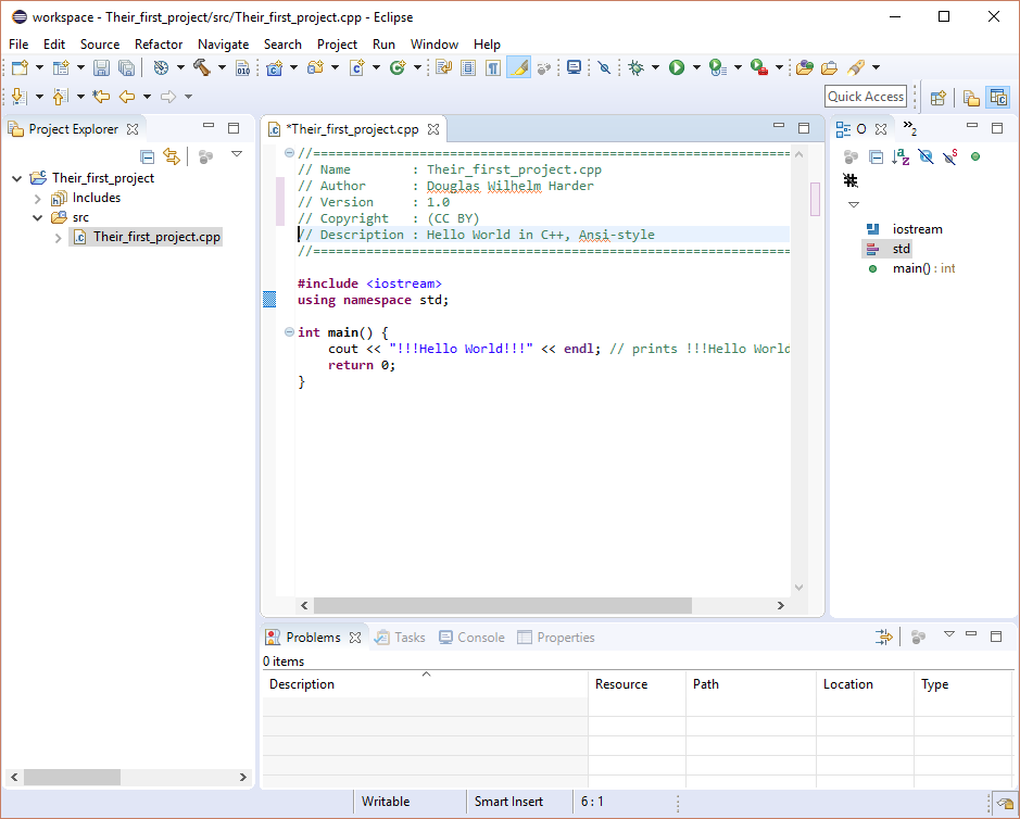 The Eclipse Integrated development environment (IDE) | Department of